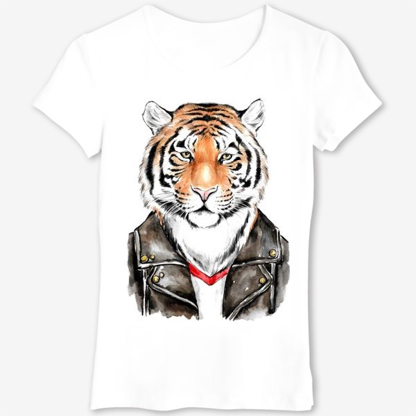 Футболка «Брутальный тигр»
