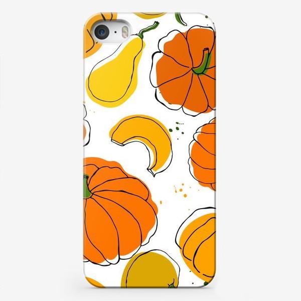 Чехол iPhone «Яркие тыквы»