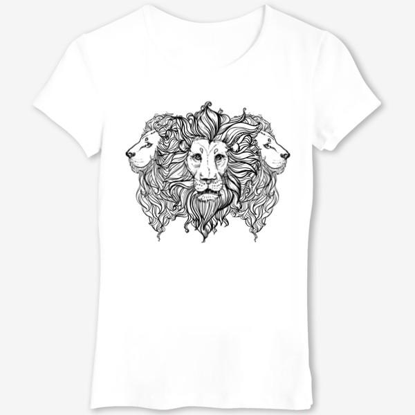 Футболка «Лев. Три льва»
