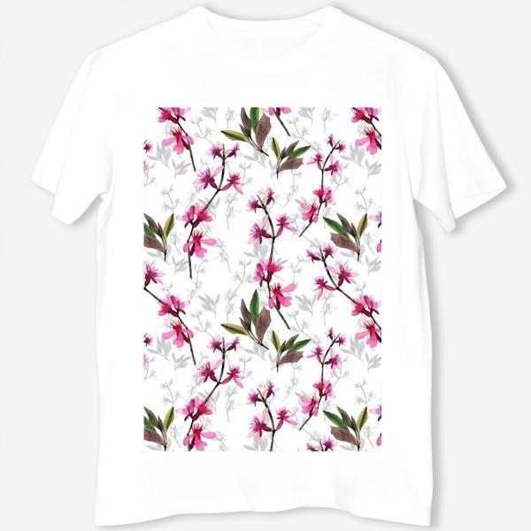 Футболка «Pink flowers»