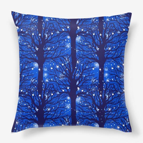Подушка «Праздничные огни»