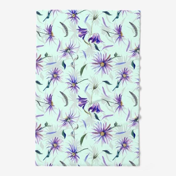 Полотенце «Watercolor flowers»