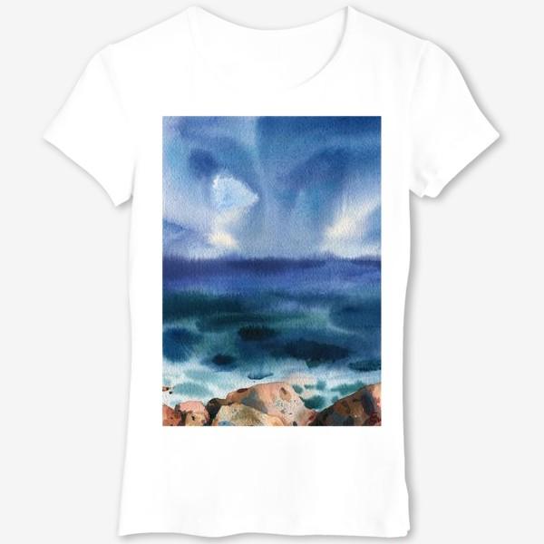 Футболка «Только шум моря »