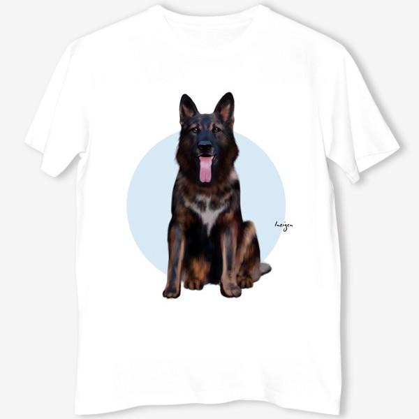 Футболка «Символ года: собака (овчарка 2)»