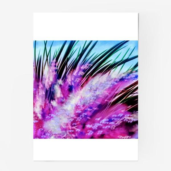 Постер «Сонные лаванды»