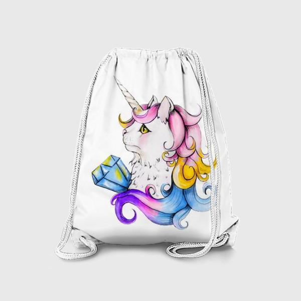 Рюкзак «Кот единорог»