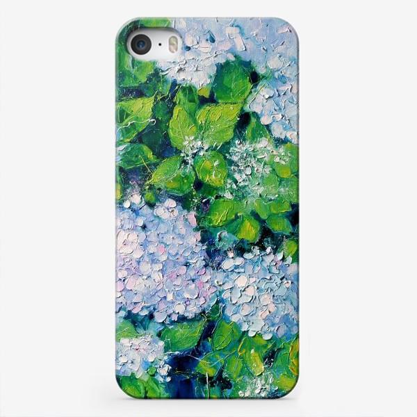Чехол iPhone «  гортензия»