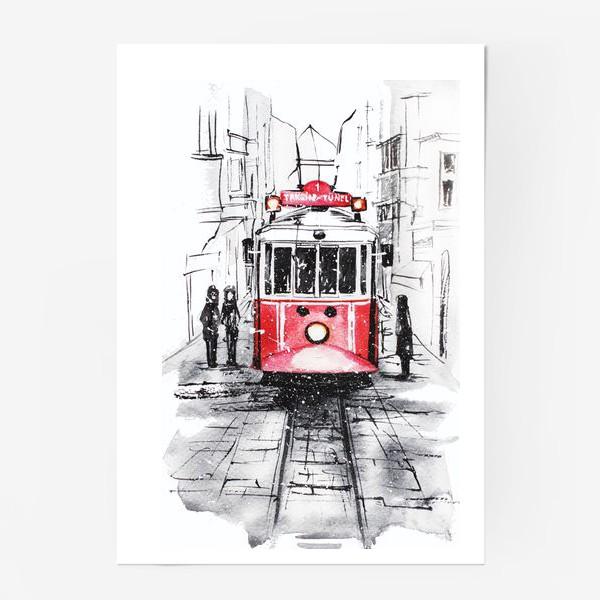 Постер «Стамбульский трамвай»