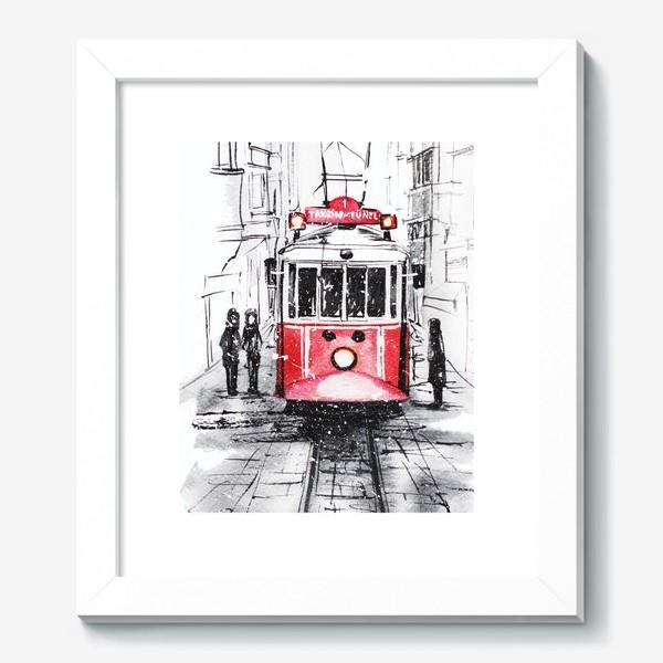 Картина «Стамбульский трамвай»