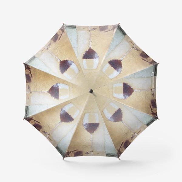 Зонт «Натюрморт с бокалом»
