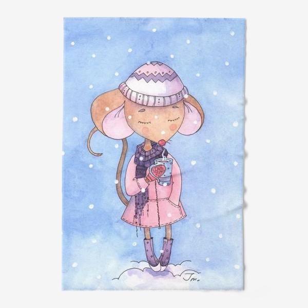 Полотенце «#рисуем_мышей»