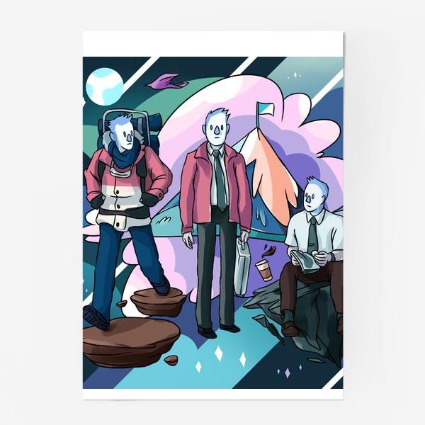 Постер «Невероятная Вселенная Уолтера»