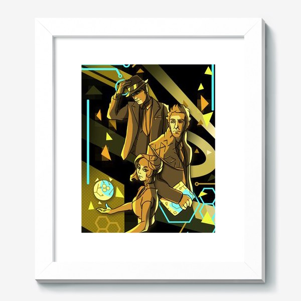 Картина «Основание Академии Селдона»