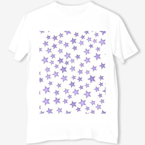 Футболка «Фиолетовые звезды»
