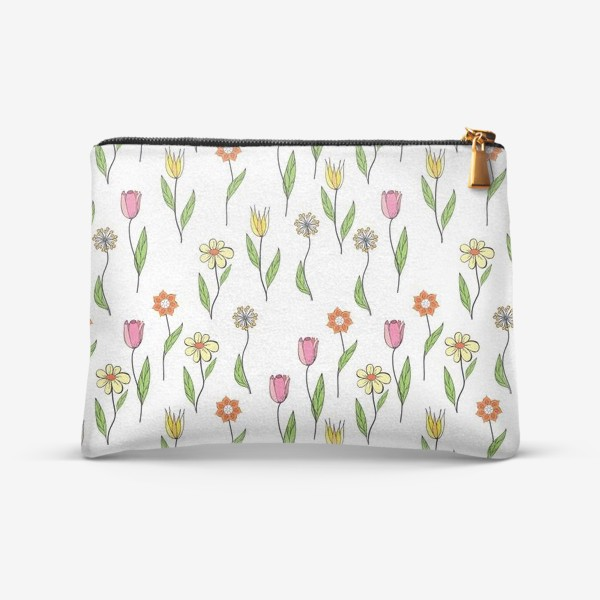 Косметичка «нежные тюльпаны»