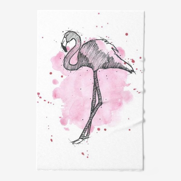 Полотенце «Rose flamingo»