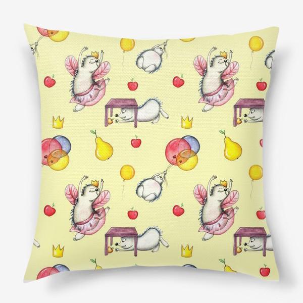 Подушка «Ежики»