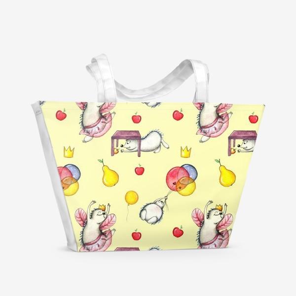 Пляжная сумка «Ежики»