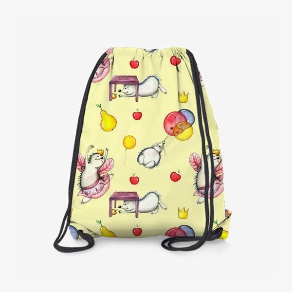 Рюкзак «Ежики»