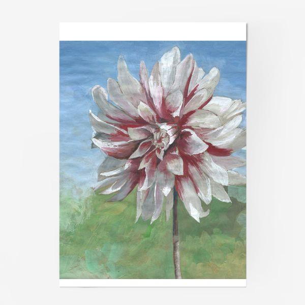 Постер «Летний цветок»