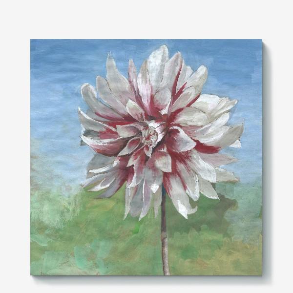 Холст «Летний цветок»