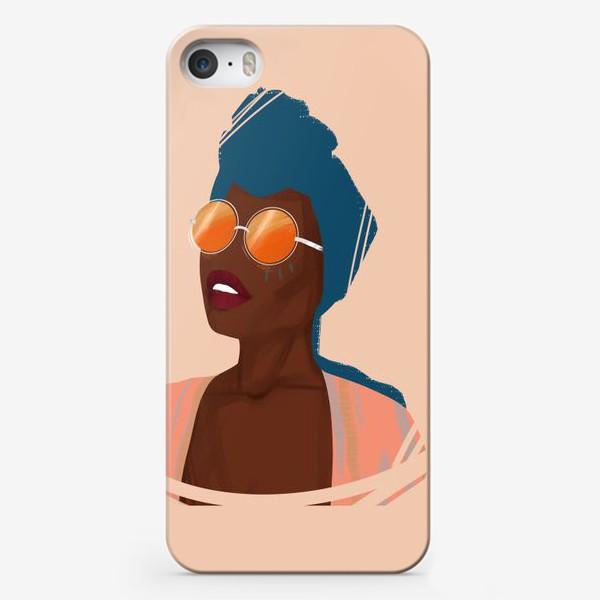 Чехол iPhone «BlackBerry Girl»