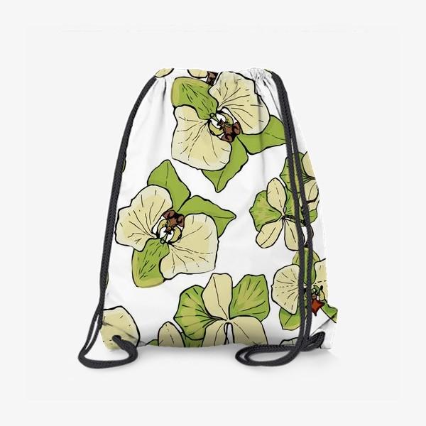 Рюкзак «зеленая орхидея»