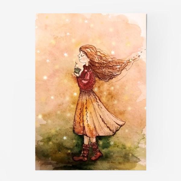 Постер «Осенний скетч»