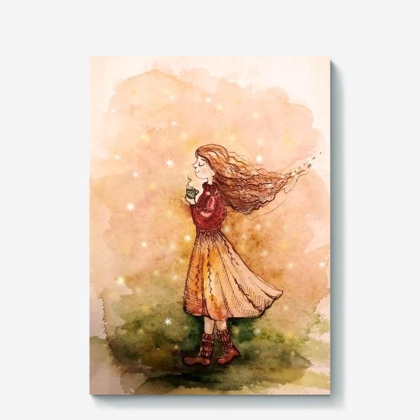Холст «Осенний скетч»