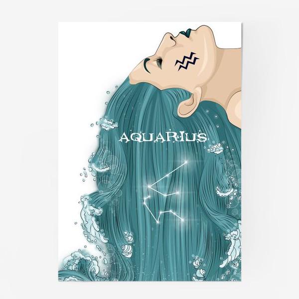 Постер «Девушка водолей»