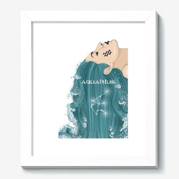 Картина «Девушка водолей»