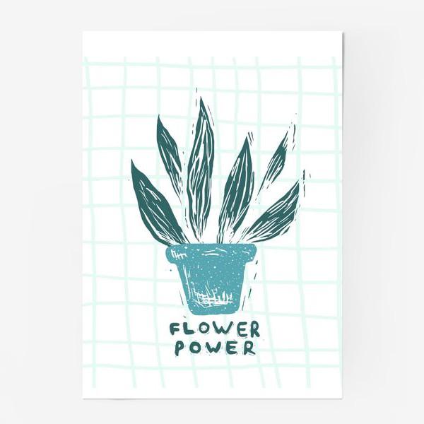 Постер «Flower Power»