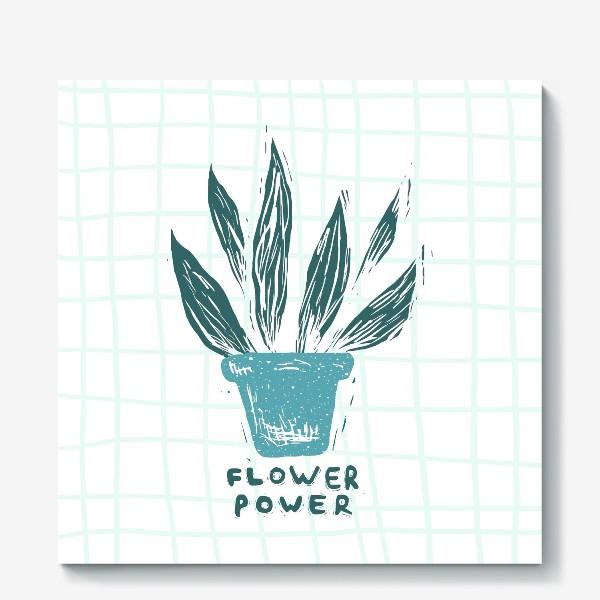 Холст «Flower Power»
