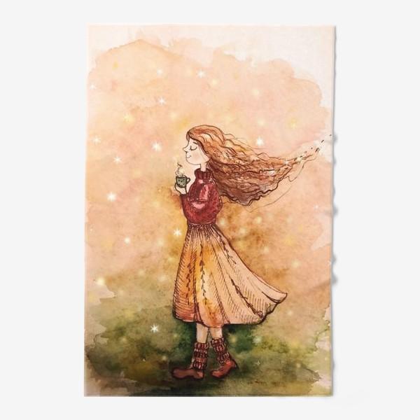 Полотенце «Осенний скетч»