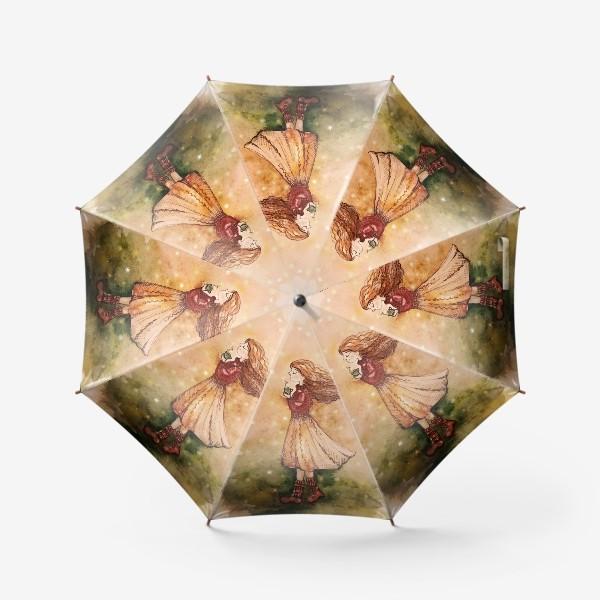 Зонт «Осенний скетч»