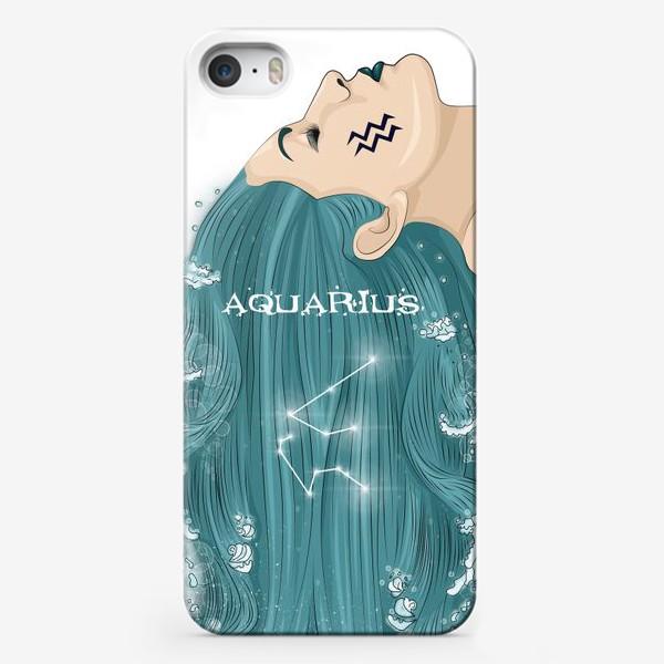 Чехол iPhone «Девушка водолей»