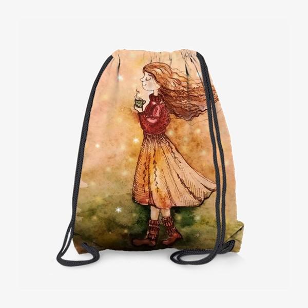 Рюкзак «Осенний скетч»