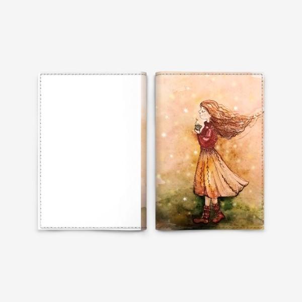 Обложка для паспорта «Осенний скетч»