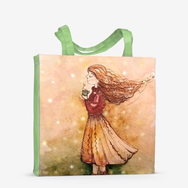 Сумка-шоппер «Осенний скетч»