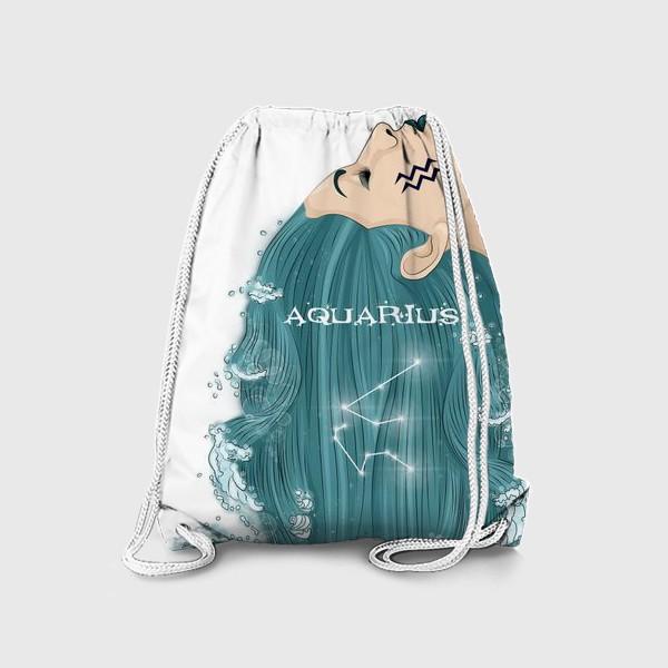 Рюкзак «Девушка водолей»