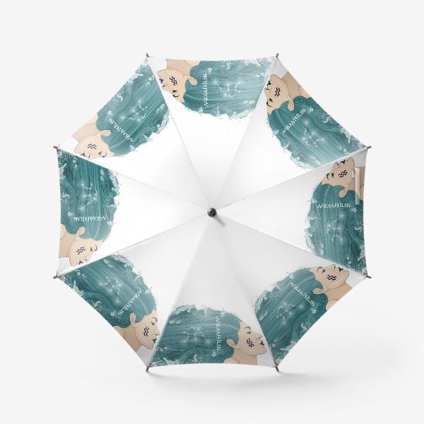 Зонт «Девушка водолей»