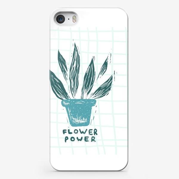 Чехол iPhone «Flower Power»