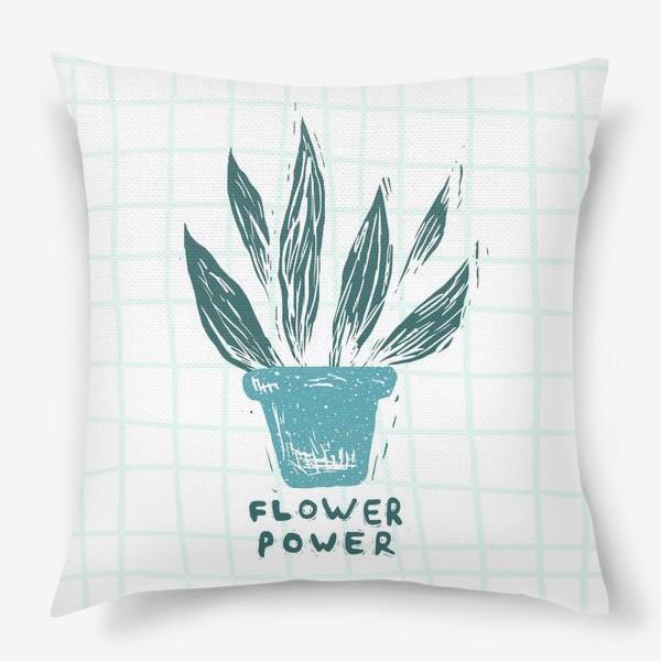 Подушка «Flower Power»