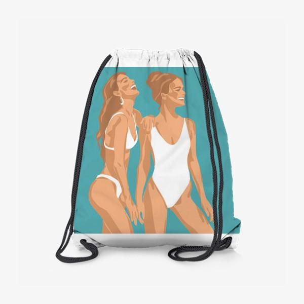 Рюкзак «Лето/Девушки в купальниках»