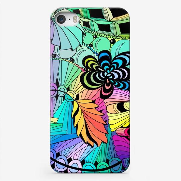 Чехол iPhone «Разноцветная абстракция »