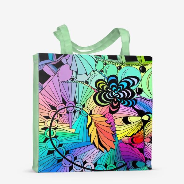 Сумка-шоппер «Разноцветная абстракция »