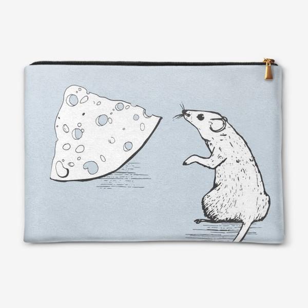 Косметичка «Крыса и сыр»