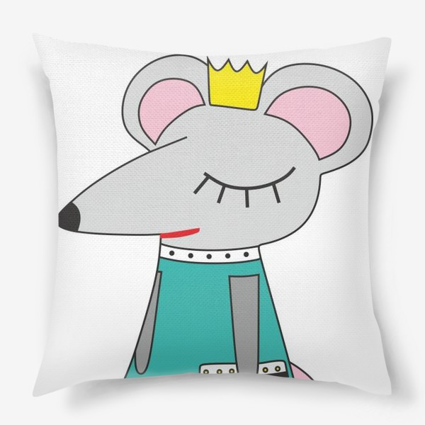 Подушка «Мышка мама»