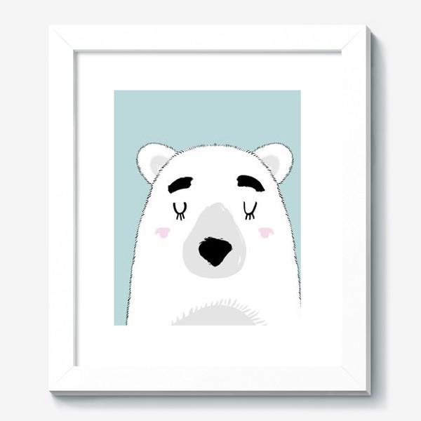 Картина «Белый полярный медведь»