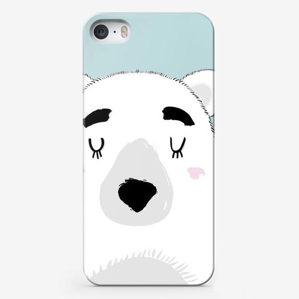 Чехол iPhone «Белый полярный медведь»